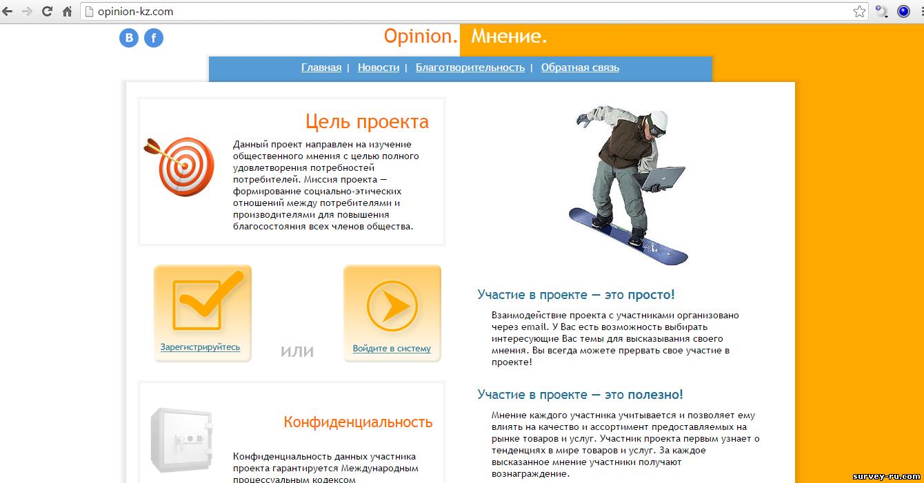 Лучшие сайты опросов - Заработок онлайн