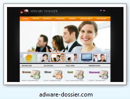 adware-dossier.com - Внесен в Черный список сайтов опросных мошенников.