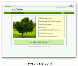 amsurveys.com - Внесен в Черный список сайтов опросных мошенников.